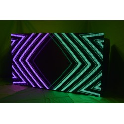 8FT LED DJ Live Video Booth (Facade) P10 (10mm) resolution