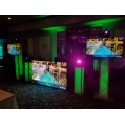 "8FT LED DJ Live Video Booth (Facade) P5 (5mm) or 1/4"" LED resolution"